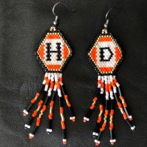Harley Beaded Earings
